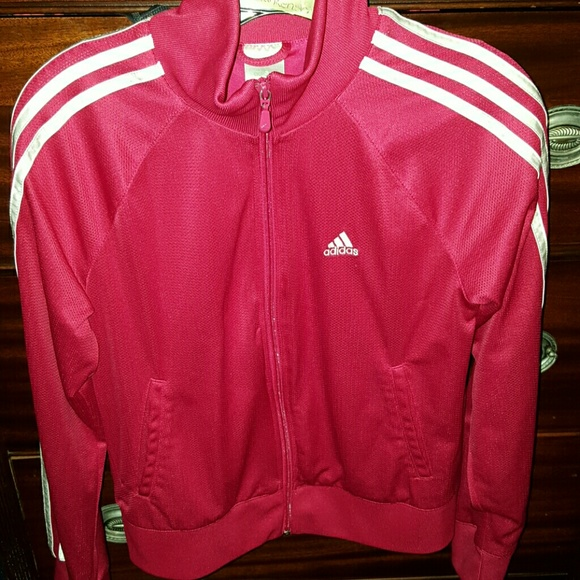 70% off Adidas Jackets & Blazers - 1 day sale! Pink and white ...