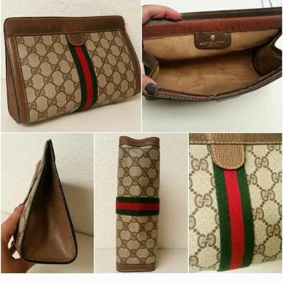 3aedb9f1c5b4 Gucci Handbags - ✨Authentic Vintage Gucci Cosmetic/Cluth Bag✨