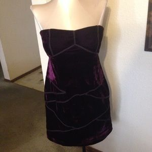 Boutique 9 Dresses & Skirts - 💥close out💥purple strapless dress small