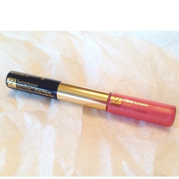 Sephora Makeup - 💋Estée Lauder Mascara+LipGloss Duo Sumptuous Lift