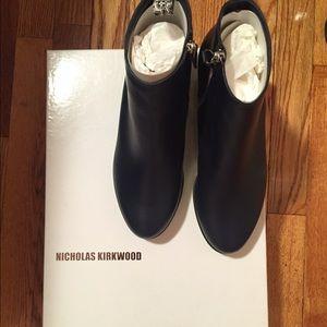 Dark blue Nicholas Kirkwood boots never worn