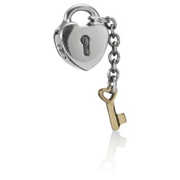 Lock And Key Pandora Charm