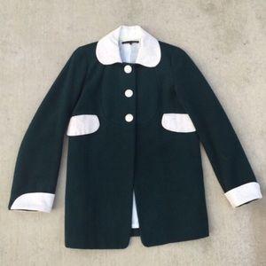 Jackets & Blazers - Peter Pan Collar Peacoat