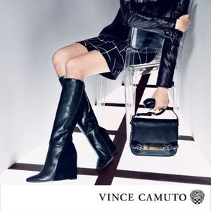 Vince camuto kaliah wedge boots