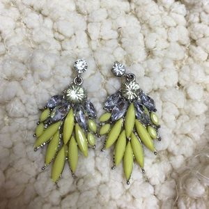 Beautiful Yellow Fashion earrings