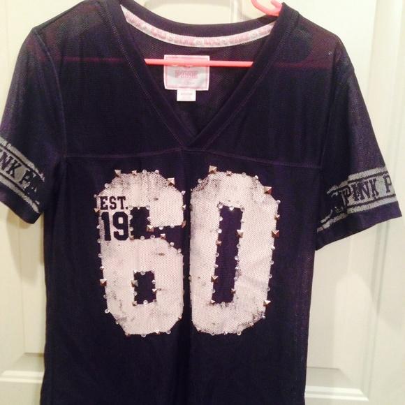 VS PINK. Dallas cowboy shirt. M 566ee467c7dcbf419b0616c1 0c9ca195d