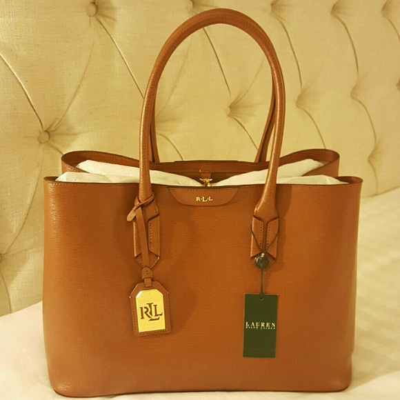 05d23ee5ec NEW Ralph Lauren City tote