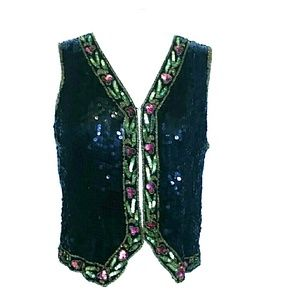collection by Monique  Jackets & Blazers - Sequin  Vest