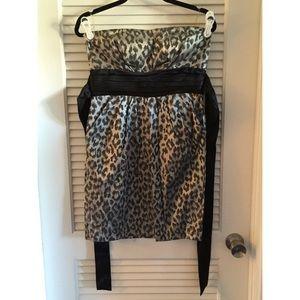 Dresses & Skirts - Leopard Skin Party Dress