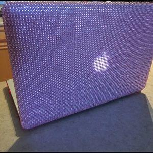 pretty nice 73595 ea9c7 🎀pink rhinestone MacBook Pro 13.3 case