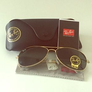 NEW Authentic Ray-Ban Cockpit Sunglasses RB3362
