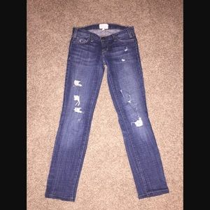 Current/Elliott The Skinny First Love Destroy Jean