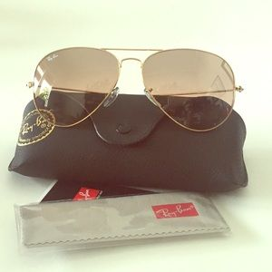 NEW Authentic Ray-Ban Large Aviators RB3025