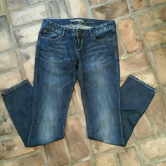 57% off Express Denim - Express zelda skinny jeans size 6r from ...