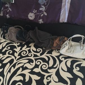 $20for all 6 purses! Cleaning out closet!