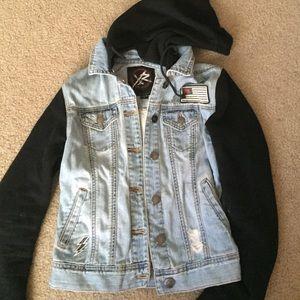 PacSun Jackets   Coats - Young   Reckless denim jacket 2440d5f8d6