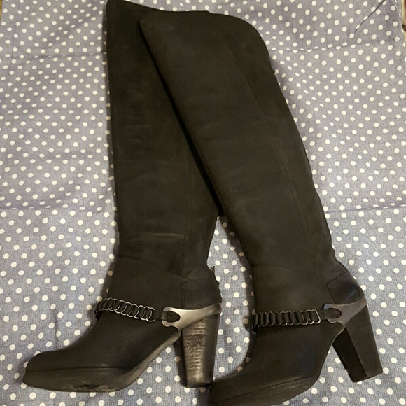 62 miss sixty shoes suede the knee boots from