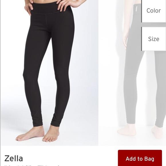 4cf3e76560 Black ZELLA leggings - Nordstrom brand. M_56700d3d729a66517b07841f