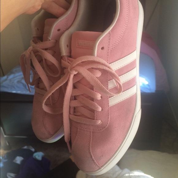 quality design de031 86daf adidas neo suede pink