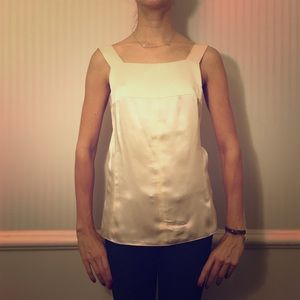 Champagne chanel blouse