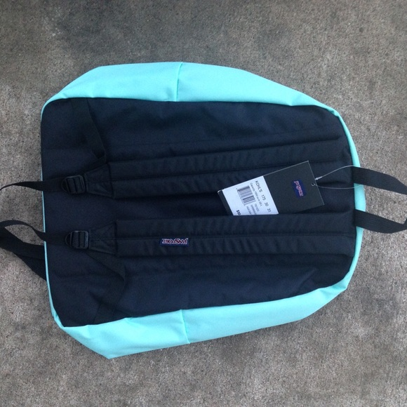 60% off Jansport Handbags - NWT mint green jansport backpack large ...