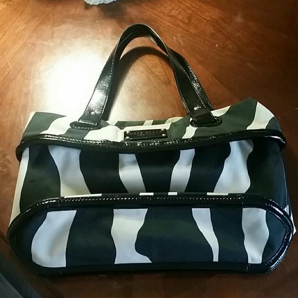 3a8bbb7b6830 kate spade Handbags - Kate Spade Animal Print Zebra Bag
