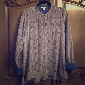 Kenar Tops - Stunning button down tunic style blouse.