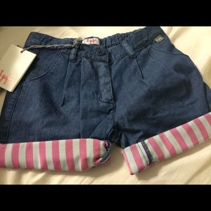 il Gufo Pants - il Gufo girls short, size 4A new with tags