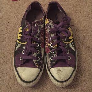 13c9b326cfda Converse Shoes - Limited edition batgirl converse