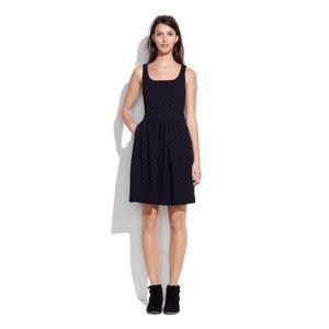Brand new Madewell Velvet dot dress xs