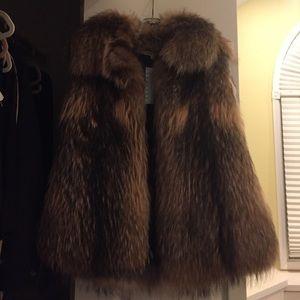 Hache Jackets & Blazers - Hache fur vest