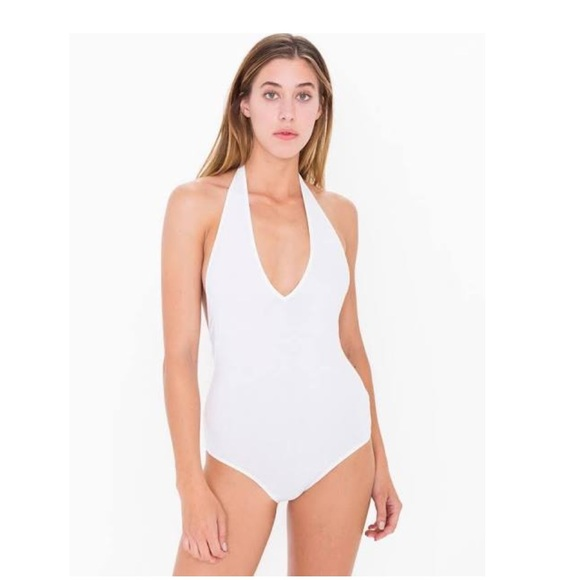American Apparel Other - White backless American Apparel bodysuit. 10bb14f88