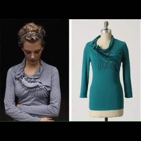 3aff7501ccd81 Anthropologie Tops - Anthropologie Ric Rac Wind Rippled Tee