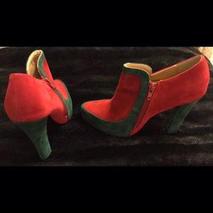New faux suede shoes size 6.5