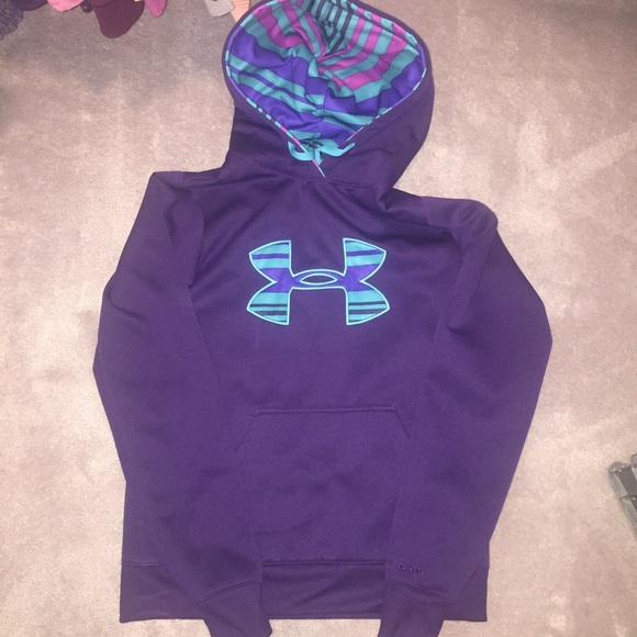 62% off Under Armour Tops - Under armour semi fitted hoodie from ...