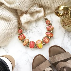 Jewelry - Coral Iridescent Necklace | Host Pick