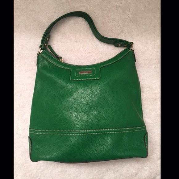 60% off kate spade Handbags - Kate Spade Kelly Green Hobo Bag from ...