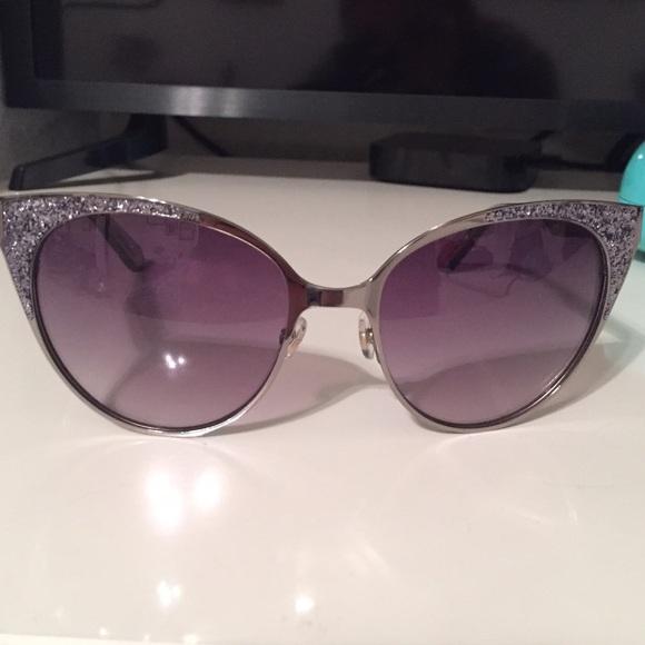 12572c425036 kate spade Accessories - Kate Spade Marietta Cat Eye Glitter Sunglasses