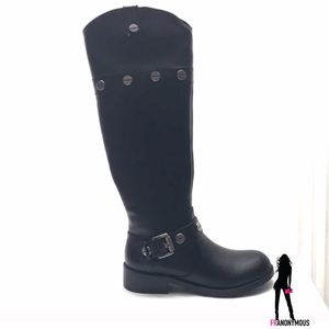 INC International Concepts Shoes - Inc International Concept Black Knee High Boots5.5