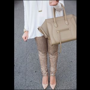 COMING SOON❤️Gold Sequin Sparkle Leggings🎉