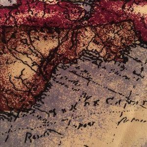World Map Button Down Shirt.Tops Map Atlas World Canvas Buttondown Collared Shirt Poshmark