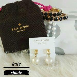~HP 10/11/16~{Kate Spade N.W.T} Faux Pearl Earings