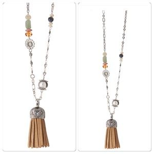 Coming Soon!! Tassel Pendant Necklace