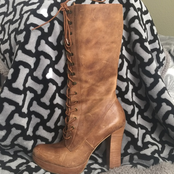 70c949a15abc2 Steve Madden Shoes | Distressed Clapton Tall Boots | Poshmark