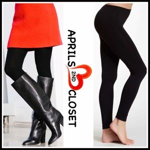 Boutique Pants - ❗1-HOUR SALE❗BLACK LEGGINGS FOOTLESS TIGHTS