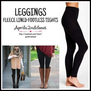 Naturalizer Accessories - ❗1-HOUR SALE❗FLEECE LINED Leggings Footless Tights