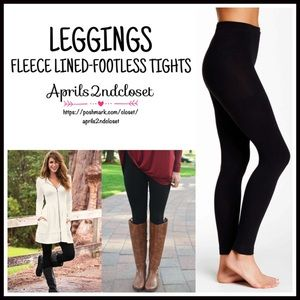 Boutique Pants - ❗1-HOUR SALE❗LEGGINGS FLEECE LINED Footless Tights