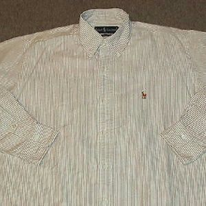 Men oxford button down ralph lauren M