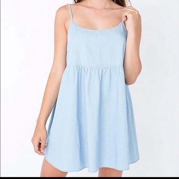 83fe8cb0ea American Apparel Dresses   Skirts - Denim Babydoll Dress