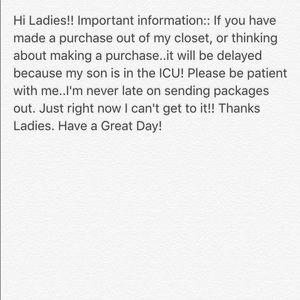 Closet Information!